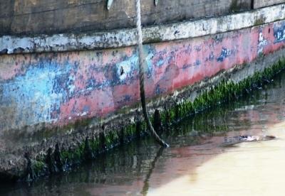 Dilapidated Barge, Maldon, Essex
