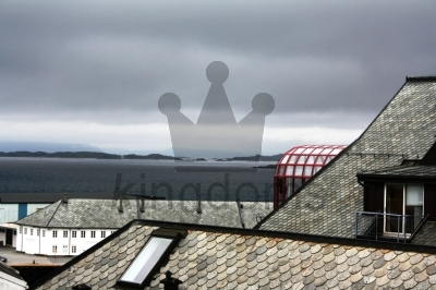 Roof Top View, Alesund, Norway