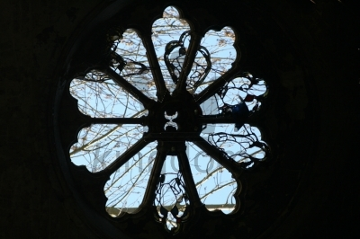 Chapel Window, Abney Park Cemetary