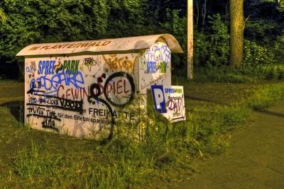 Vandalised Cabinet