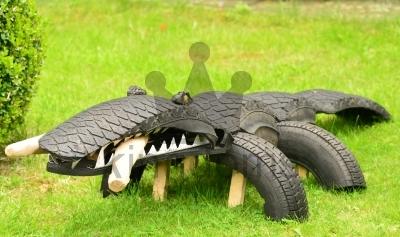 Tyre Crocodile