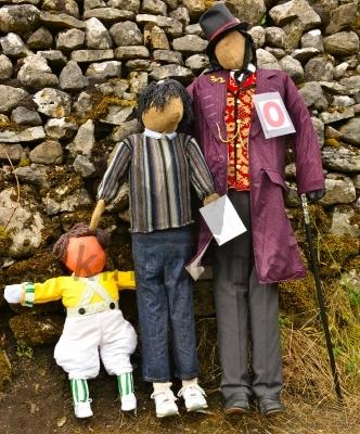 Willy Wonka Scarecrow