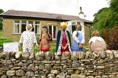Fancy Dress Scarecrows