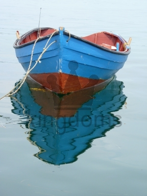 Rowing Boat Reflection