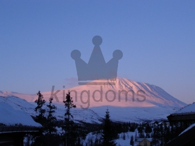 Gaustatoppen At Sunset