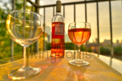 Wine As The Sunsets