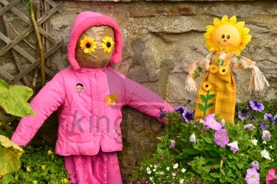 Children Scarecrows