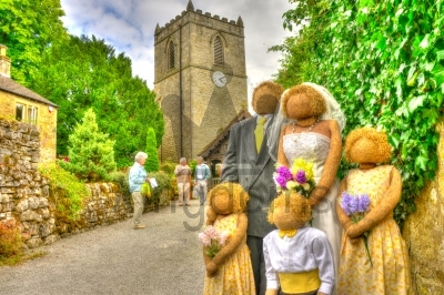 Wedding Scarecrows