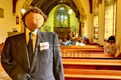 Church Scarecrow