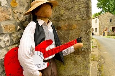 Guitarist Scarecrow