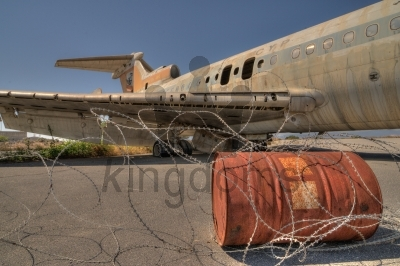 Abandoned Trident Aircraft