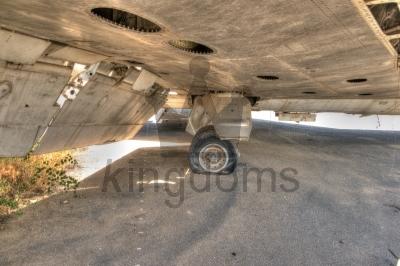 Aircraft Flat Tyre