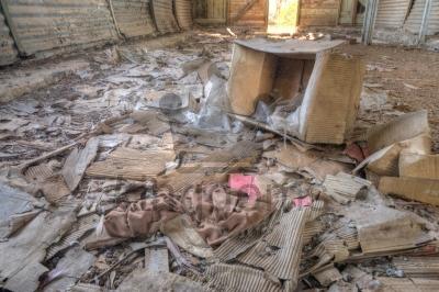 Dilapidated Hangar