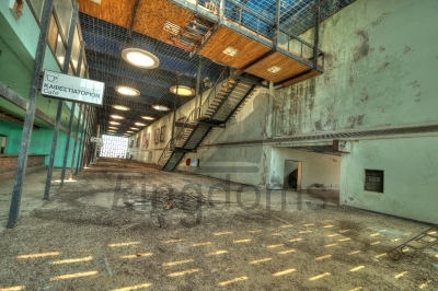 Abandoned Departures Lounge
