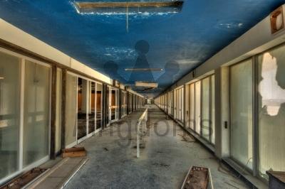 Corridor Of Departure Lounges