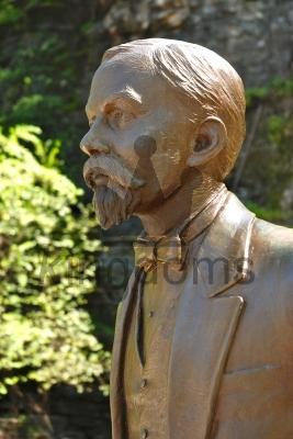 Statue of Jack Daniels