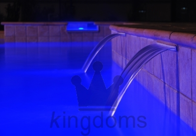 Fountains In Pool