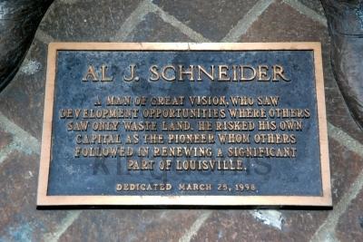 Al Schneider Plaque