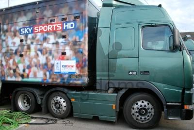 Sky TV Truck