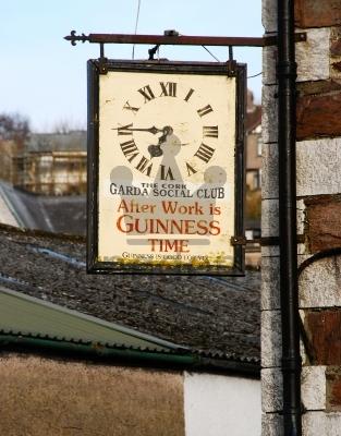 Guiness Clock