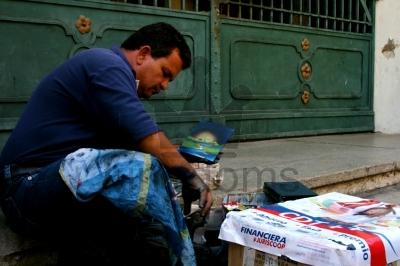 Colombian Street Artist