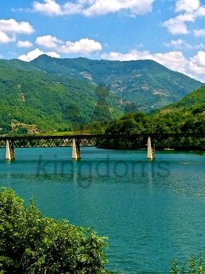 Naretva river Bosnia Herzegovnia
