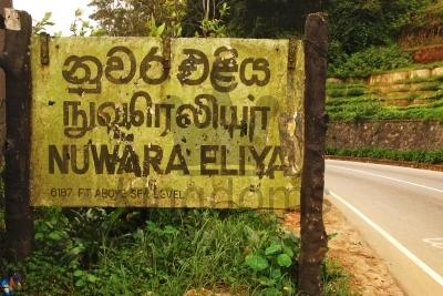 Nuwara Eliya Sign
