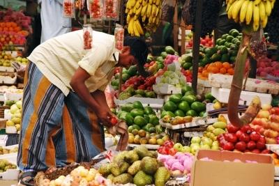 Asian Market Stall
