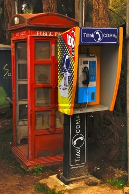 Sri Lankan Phone Box
