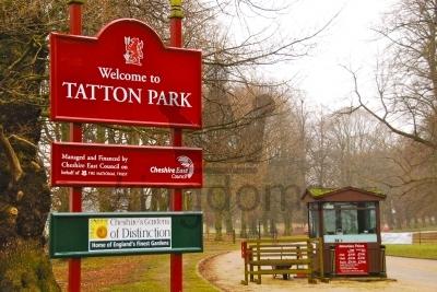 Tatton Park Entrance