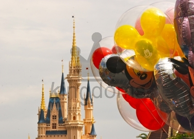 Balloons At Magic Kingdom