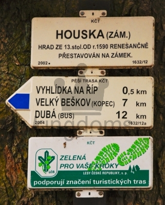 Czech Road Sign