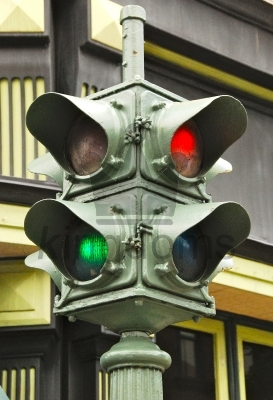 Historic USA Traffic Lights