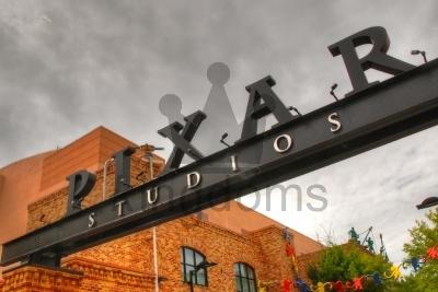 Pixar Signage
