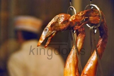 Ducks In Chinese Kitchen