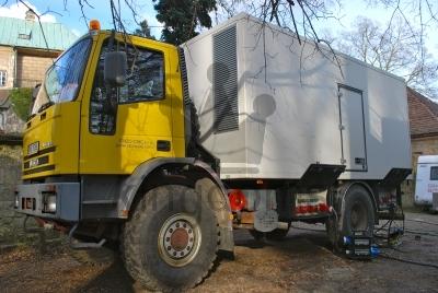 Generator On Truck