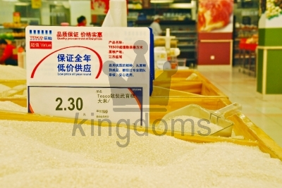 Tesco Rice In China