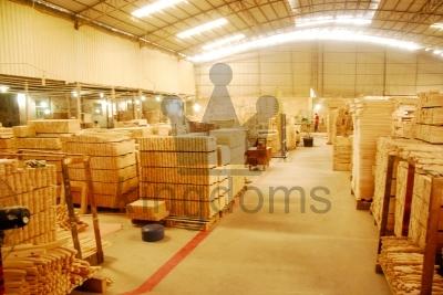Warehouse Holding Wood