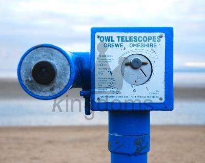 Telescope At Beach