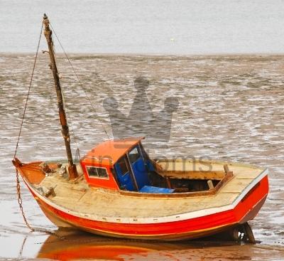 Stranded Boat