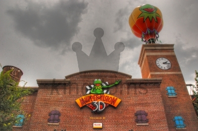 Muppet Vision Attraction