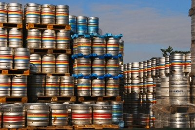 Pallets Of Barrels