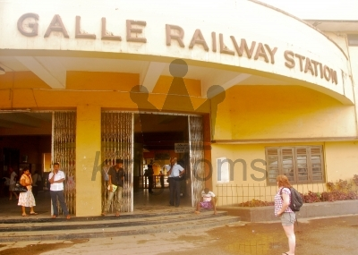 Galle Train Station