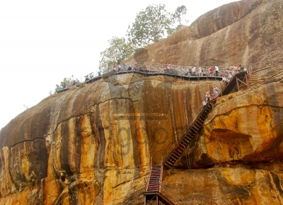 Lions Paw At Sigiriya
