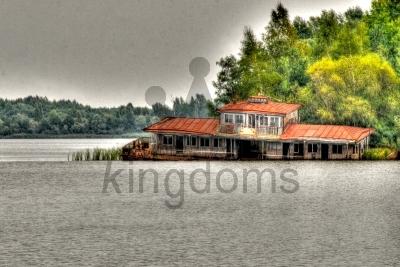 Sinking Houseboat