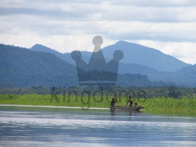 Canoeing Up The Sepik River, Papua New Guinea
