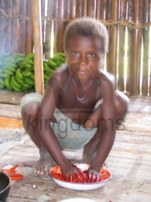 Local girl, Papua New Guinea