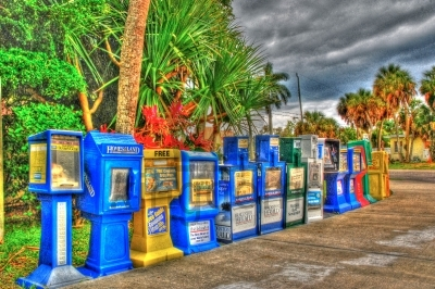 American Newspaper Stands