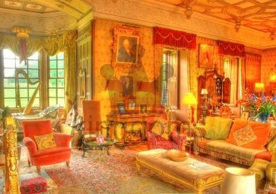 Stately House Living Room