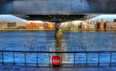 Under Millenium Bridge